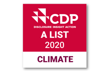 Carbon Disclosure Project A List in 2020